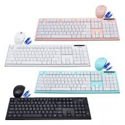 Keyboard + Mouse W/L IK7500 OKER