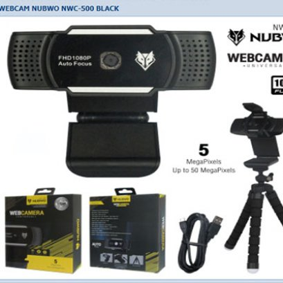 WebCamera NWC-500 Black