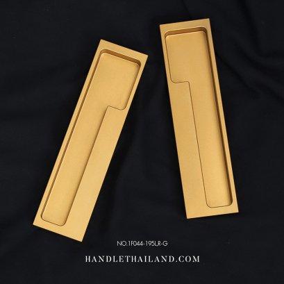 มือจับฝังสีทอง