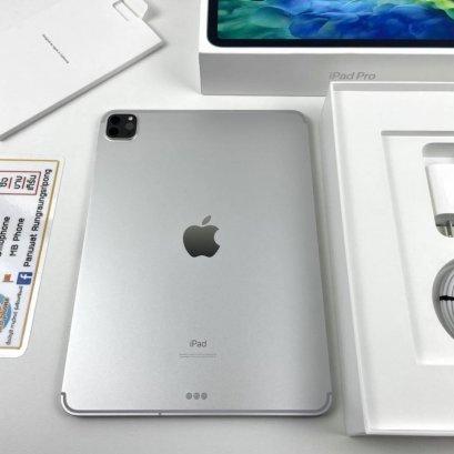 (ขาย) iPad Pro 11 (2020) สีเงิน 128GB Cellular ประกันเหลือ = 24,900