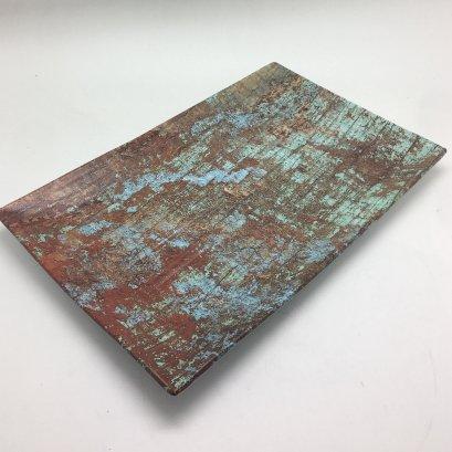 Melamine Rectangular Plate 29x18x3cm-Copper Brush