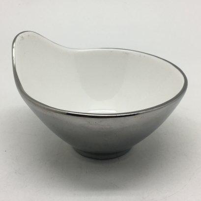 Tide Rice bowl D10.5xH5cmSilver Outside HPD0031-13CSil