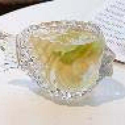 Fish Shape Wine Glass D7.5xH8.4cm  155ml (SGRR4267)