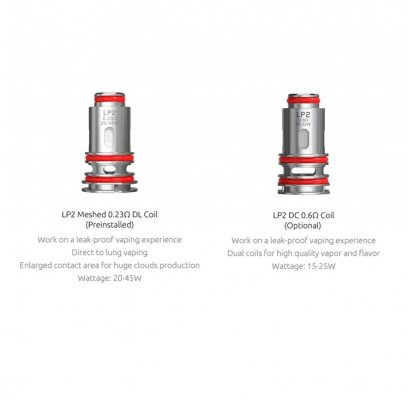 คอยล์ - SMOK LP2 Coil for RPM 4 Meshed 0.23ohm DL Coil and DC 0.6ohm Coil