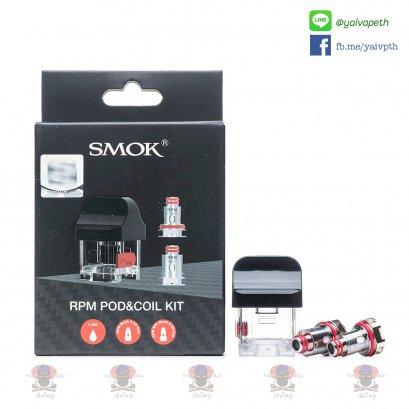 ชุดหัวเปล่า+คอยล์ - SMOK RPM Pod & Coil Kit