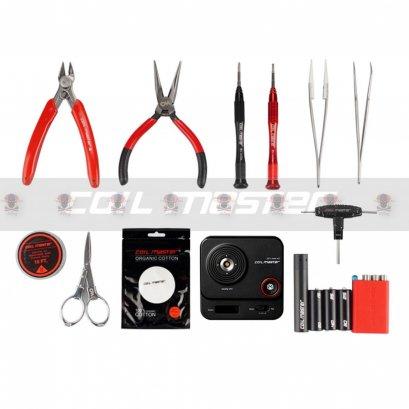 Coil Master DIY Kit V3: อุปกรณ์สำหรับบุหรี่ไฟฟ้าลวด สำลี ไขควง แหนบจัดสำ คีมตัดลวดบุหรี่ไฟฟ้า