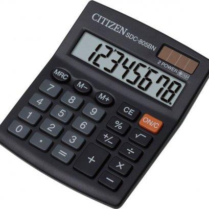 เครื่องคิดเลข รุ่นSDC 805BN