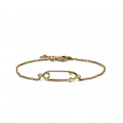 Brooch Bracelet 18K Gold Plate