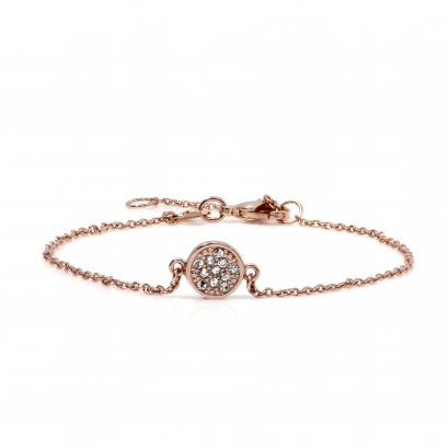 Circle rose gold with CZ