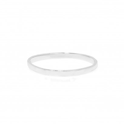 Sterling Silver Smooth Ring