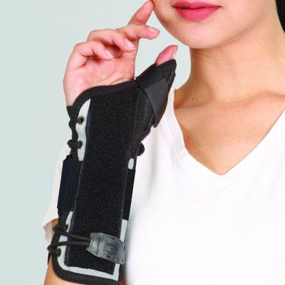 อุปกรณ์พยุงข้อมือ แกนโคนนิ้วโป้ง (Wrist Splint with Thumb)