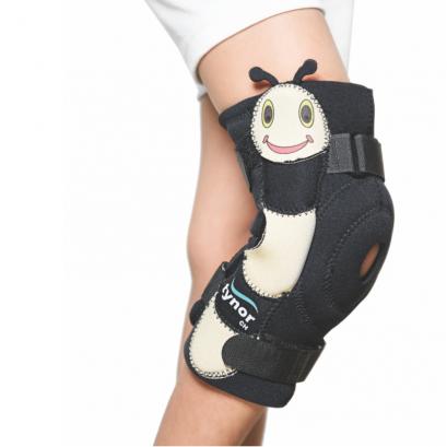 อุปกรณ์พยุงเข่า (เด็ก) เสริมแกน/สายรัด 2 ชั้น Knee Wrap Hinged (Neoprene_Child)