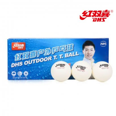 ลูก Out Door Table Tennis Balls (All Weather, Seamed ABS 40+ Balls) PlasticPong Rated high quality