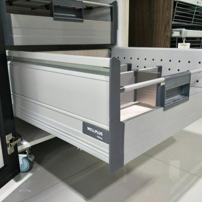 Inner Tandem Box with Twin Wall Metal Side Panels