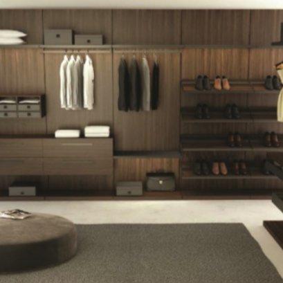 New Walk-in closet system