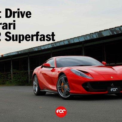 Test Drive Ferrari 812 Superfast | FOC Drive
