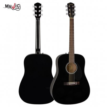 Fender CD-60S Acoustic Guitar ( Black )