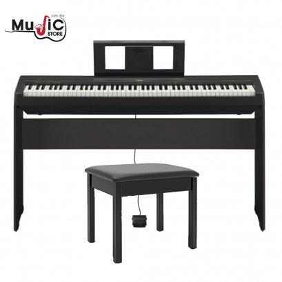 เปียโนไฟฟ้า YAMAHA P-45 Black Digital Piano