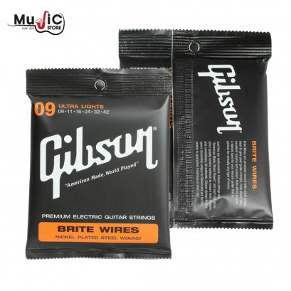 Gibson SEG-700UL Brite Wires Electric Strings Ultra Light 009 -.042