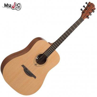 LAG Tramontane T44D Acoustic Guitar - Naturel Satin