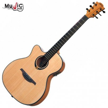 LAG Tramontane TL80ACE Acoustic Electric Guitar ( Left Hand )
