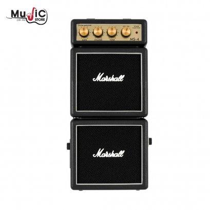 แอมป์กีตาร์ Marshall MS-4 Micro Stack (Black)