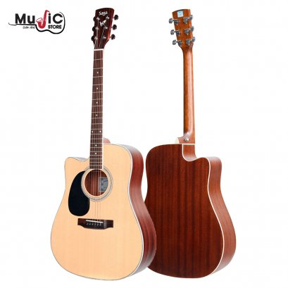 SAGA SF700CL Acoustic Guitar ( Left Hand )