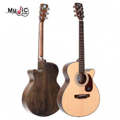 SAGA SA800CAcoustic Guitar ( Solid Top )