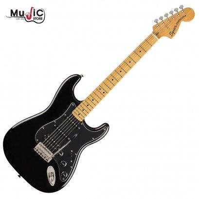 กีตาร์ไฟฟ้า Squier Classic Vibe 70s Stratocaster HSS MN - Black