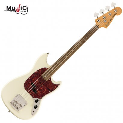 Squier Classic Vibe ' 60s Mustang Bass ( Olympic White )