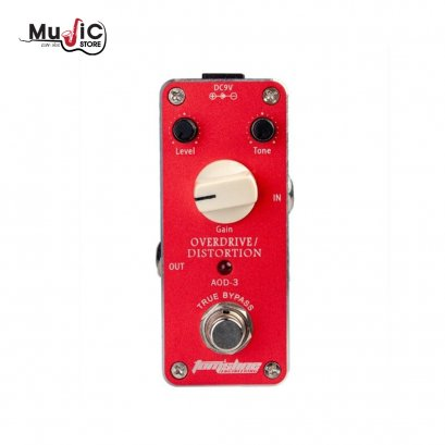 Tom'sline AOD-3 Mini Overdrive Distortion Effects Pedal