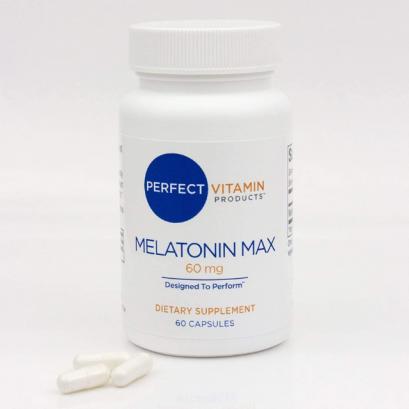 เมลาโทนิน 60 มก Melatonin Max 60 mg 60 capsules perfect vitamin