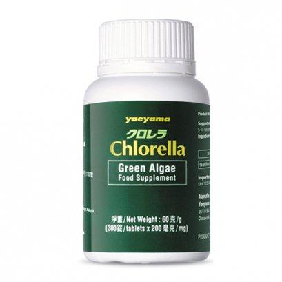 เอ็นเอ็น เยย่าม่า คลอเรลล่า 200มก.*300เม็ด/ Nn Yaeyama Chlorella 200mg*300