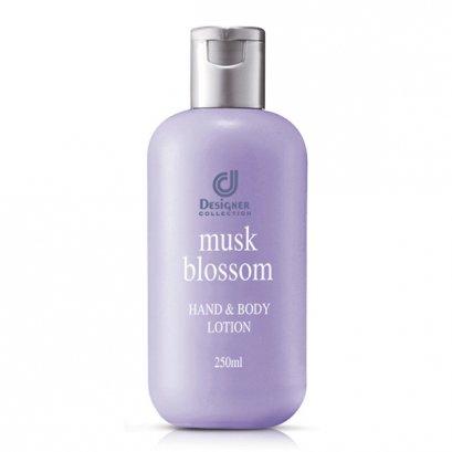 ดีไซน์เนอร์คอลเลคชั่น มัสค์ บลอซซั่ม โลชั่นทาผิว 250 มล./ Designer Collection Musk Blossom Hand & Body Lotion 250ml