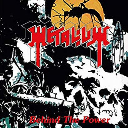 METALIUM'Behind The Power' CD.