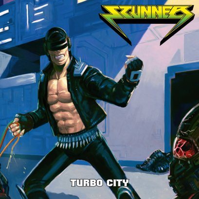 STUNNER'Turbo City' CD.