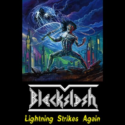 BLACKSLASH'Lightning Strikes Again'. Tape.