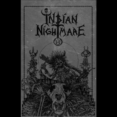 INDIAN NIGHTMARE'Taking Back The Land' Tape.