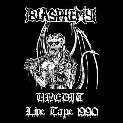 BLASPHEMY'Unedit Live Tape 1990' Tape.(Bootleg)
