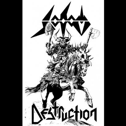 DESTRUCTION/SODOM'Split' Tape.
