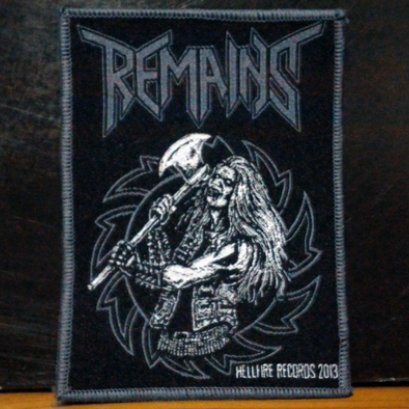 REMAINS's Woven Patch.