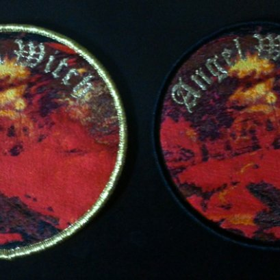 ANGEL WITCH'S/T' Woven Patch.(Bootleg)