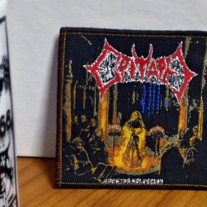EPITAPH'Seeming Salvation' Woven Patch.(Bootleg)