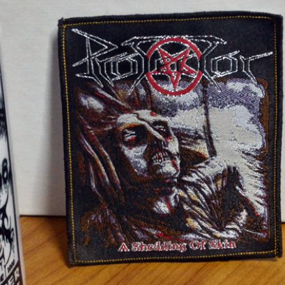 PROTECTOR'A Shedding Of Skin' Woven patch.(Bootleg)