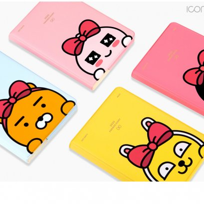 [KakaoFriends] KAKAO FRIENDS/diary/planner/new year/dated/undated 2020