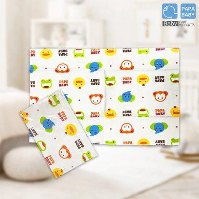 PAPA BABY แผ่นรองปัสสาวะสำหรับเด็ก CEQ-062A ผ้า Cotton 2หน้า size 43x69 ซม.