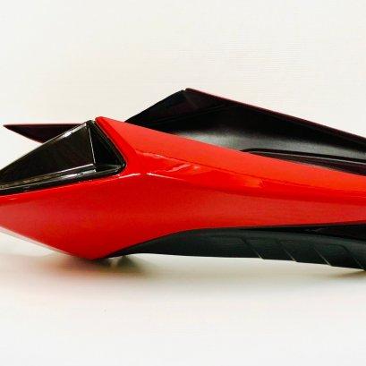 ครอบท้าย รุ่น MSX-SF สีแดง-ดำ