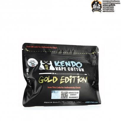 สำลี Kendo Vape Cotton Gold Edition แท้ 100%