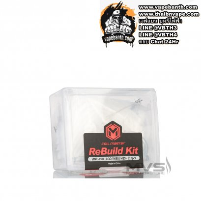 0.3 Coil Master ReBuild Kit(RBK) For PnP-VM1 0.3 ohm