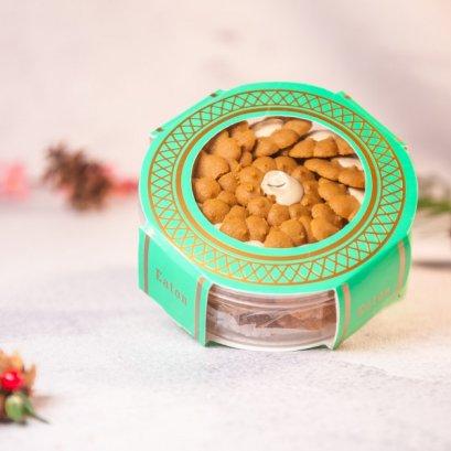 Chrysanthemum Cappuccino Cookies
